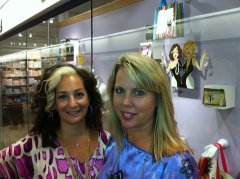 Jodi Pedri and Tonja Steel of Working Girls